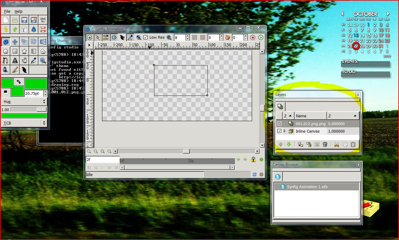 Importing SVG (Inkscape images) into Synfig - Animation