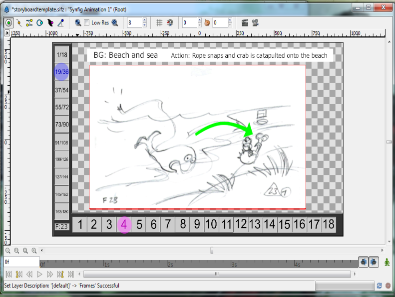 Storyboarder Layers